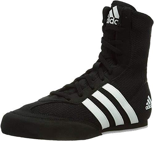 adidas Herren Box Hog 2 Fitnessschuhe, Schwarz (Core Black/FTWR White/Core Black Core Black/FTWR White/Core Black), 49 1/3 EU