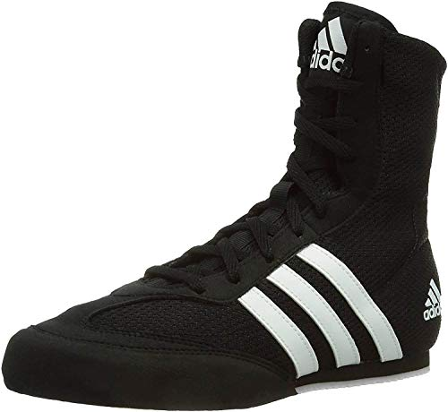 Adidas Box Hog 2 Ba7928, Zapatillas de Deporte Hombre, Negro (Core Black/FTWR White/Core Black Core Black/FTWR White/Core Black), 40 2/3 EU