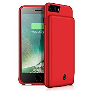 Yishda Battery Case For Iphone 66s78 4500mah Portable Protective Charging Case For Iphone 876s6 47 Inch Rechargeable Extended Battery Charger Case Compatible Headphone