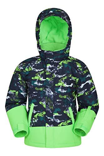 Mountain Warehouse Mogal Printed Kids Waterproof Ski Jacket - Zipped...