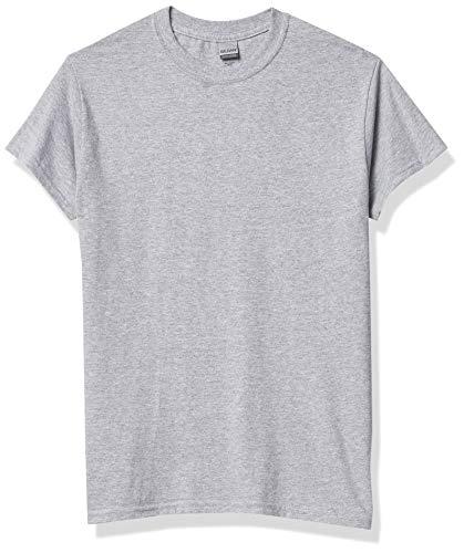 Gildan - Camiseta básica de manga corta Modelo Heavy Cotton para hombre...