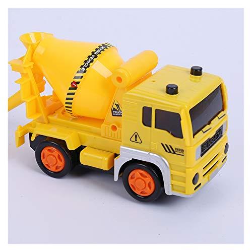 GF Camiones de Basura, Vehículos de construcción, Mezcladores de Cemento, Grúas, Mini Construction Vehicle Engineering Car Dump-Car Dump Modelo de camión GJF (Color : Gray)