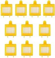 マイクロファイバーSteam MopパッドのマイクロファイバーSTHERMS S3501 S3601D S3801D S3801D SE450 交換部品 (色 : 10 Filters)