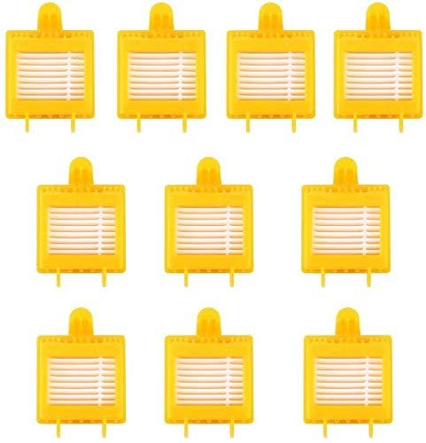 Almohadillas de limpieza de microfibra para mopa de vapor Shark S3500 Series S3550 S3501 S3601 S3601D S3801 S3901 S3901D SE450 (color: 10 filtros)