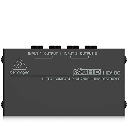 Behringer HD400 Microhd 2 Channel Hum Destroyer
