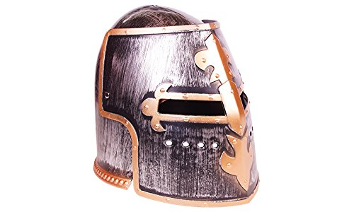 Holzspielerei Templerhelm royal Silber