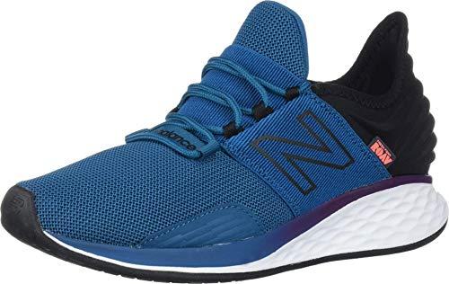 New Balance Men's Fresh Foam Roav V1 Lace-up Sneaker, Dark Neptune/Black, 10 M US
