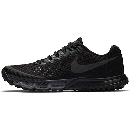 Nike W Air Zoom Terra Kiger 4, Zapatillas de Running para Mujer, Multicolor (Black/Anthracite/Anthracite/Cool Grey 010), 40.5 EU