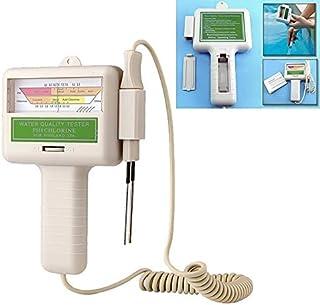 NO LOGO L-Yune, 1 Pcs PC-101 CL2 PH Chlore Testeur de Qualité d'eau Portable Piscine À La Maison Aquarium PH Mètre Test Mo...
