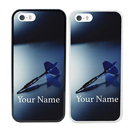 """Preisvergleich Produktbild I-CHOOSE LIMITED Darts Personalisierter Handyhülle für Apple iPhone 8 Benutzerdefinierte Hülle Persönlich Dein Name Stoßstange 4, 7"""" Bildschirm"""