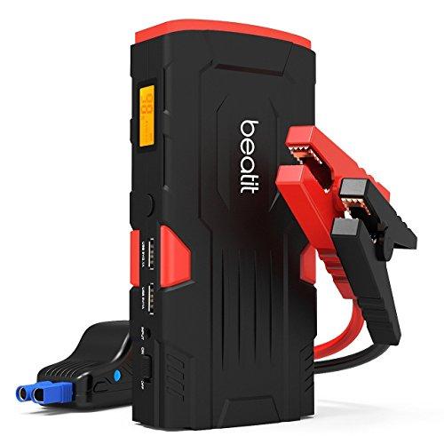 Beatit D11 800 A pico 18000 mAh 12 V arrancador de coche portátil (hasta...