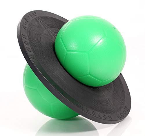 Togu Moonhopper Sport Hüpfball grün/schwarz, bis 110kg belastbar