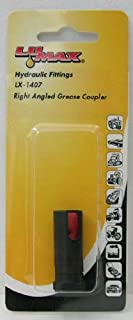 Lumax LX-1407 Black Right Angled Grease Coupler