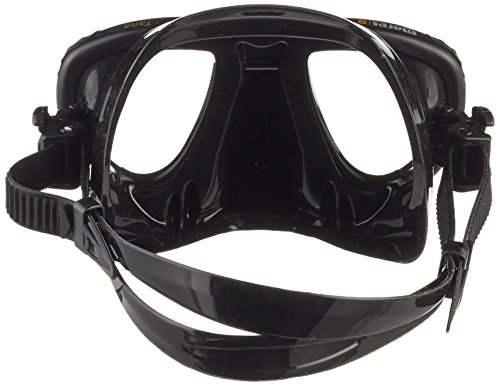 Mares Mask Plus Snorkel Tana Diving Kit - Black/Black