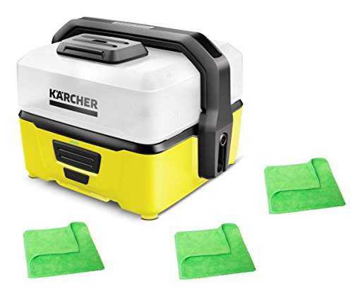 KÄRCHER Mobile Outdoor Cleaner OC 3 1.680-000.0 inkl. 3 professionellen Microfasertüchern
