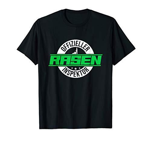 Geschenk Idee Mann Geburtstagsgeschenk Rasen Garten T-Shirt
