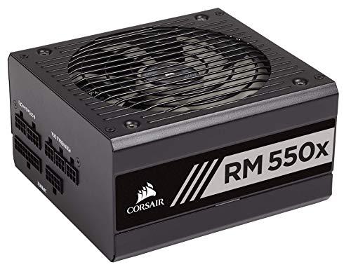 Corsair RM550x Netzteil 550 W ATX Schwarz - Netzteile (550 W, 100-240 V, 47-63 Hz, 5-10 A, 130 W, 549,6 W)