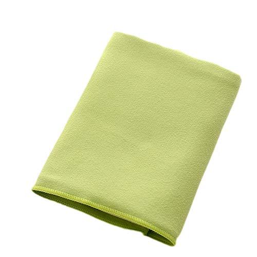 Jtoony-SP Asciugamano Sportivo Asciugamano Sportivo Asciugamano rinfrescante for Sport, Allenamento, Fitness, Palestra, Yoga, Pilates, Viaggi, Campeggio e amp (Colore : Verde)