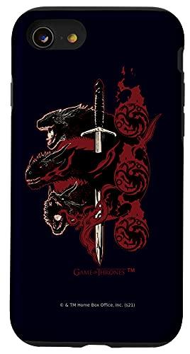 iPhone SE (2020) / 7 / 8 Game of Thrones Targaryen Dragons Case