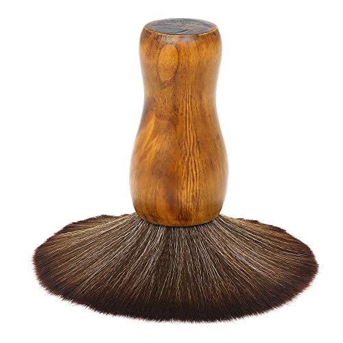 Anself Cepillos de Cuello Ultra Suave Peluquería Limpieza Cepillo Para el Cabello Peluquería Cuello del Plumero Facial Cepillo Salón