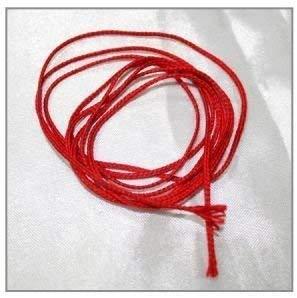 Bestdeal Red Silk Thread Lal Dhaga/Silk Thread 9 Meters Approx 4 Pcs