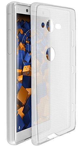 mumbi Hülle kompatibel mit Sony Xperia XZ2 Compact Handy Hülle Handyhülle dünn, transparent