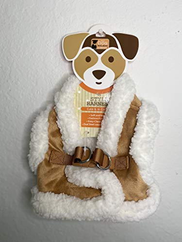 The Dog Walker Company Style Harness Elite pet Accessories (Soft and Warm) (S)