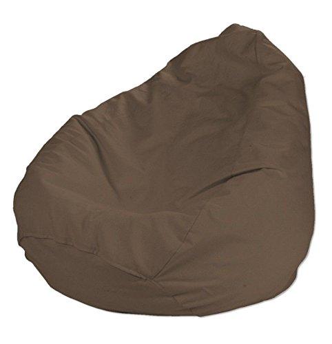 Dekoria Poltrona a sacco Ø80x115 cm cioccolato