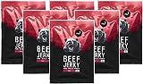 nu3 Beef Jerky con pimienta - 6 x 50g - Increíble 53% de proteína - Carne seca baja en grasa...