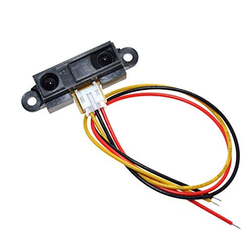 ARCELI GP2Y0A21YK0F Sharp IR Analoger Abstandssensor 10-80cm + Kabel, Arduino-kompatibel