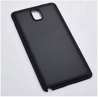 Samsung Galaxy Note3 SC-01F SCL22 バックパネル バッテリーカバー リアカバー 互換品 (ブラック)