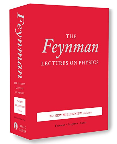 The Feynman Lectures on Physics, boxed set: The New Millennium Edition