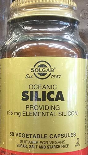 Silice Oceánico 50 vegicápsulas de 25 mg de Solgar