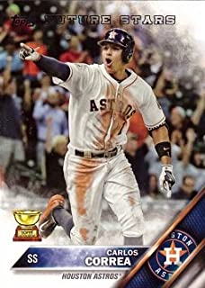 2016 Topps #650 Carlos Correa Baseball Card – Topps All-Star Rookie