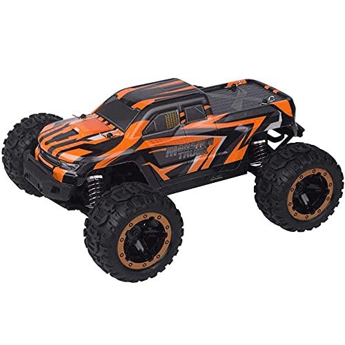 WANGCH 2.4G Coche de carreras RC inalámbrico de alta velocidad 1 16 Coche de control remoto todoterreno Juguete Big Foot Monster RC Camión Batería recargable a prueba de golpes y resistente a las caíd