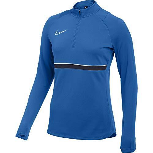 NIKE Academy CV2653-463 - Camiseta de Tirantes para Mujer (Talla S), Color Azul, Blanco y Negro