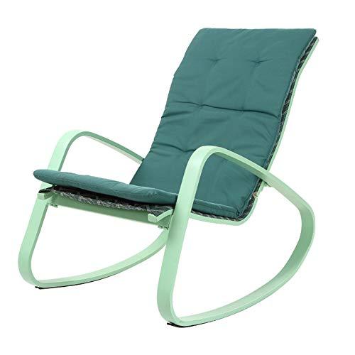 XUE Schaukelstuhl für den Außenbereich, Holzstühle, bequem, für Hof, Wohnzimmer, Relax, Rocker für Erwachsene Patio Lawn & Garden