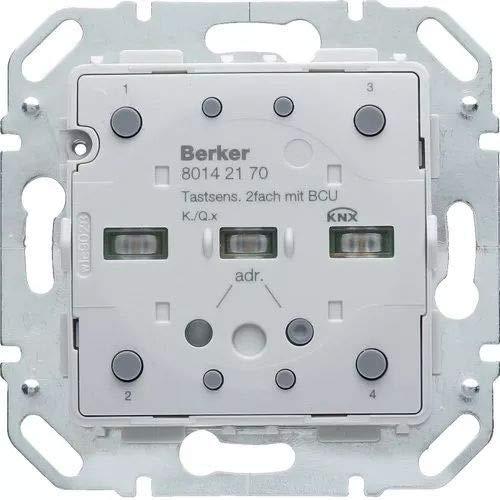 Hager 80142170 KNX knop met geïntegreerde BCU, 2 fasen, K.X