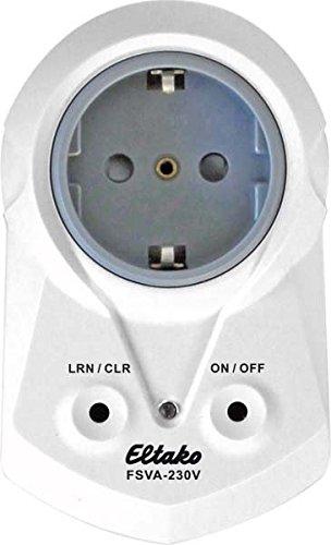 Eltako Funkaktor Steckdosen-Schaltaktor mit Strommessung, 1 Stück, FSVA-230V