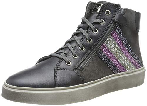 Richter Kinderschuhe Mädchen Ryana Hohe Sneaker, Silber (Oldsilv/Ash/St/Ca/SI 9601), 29 EU