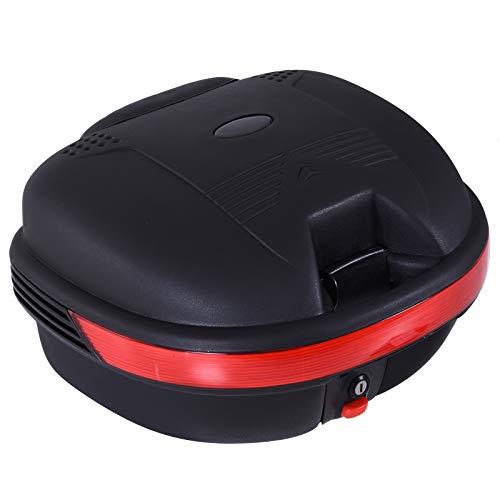 Baúl Moto Universal 30L + Llaves y...