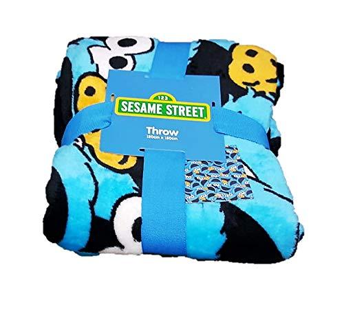 Funda Nordica Primark Medidas.Primark Home 123 Seasame Street Cookie Monster Snug Rug Fleece Super Soft Travel Throw Bed Blanket Gift New Bnwt