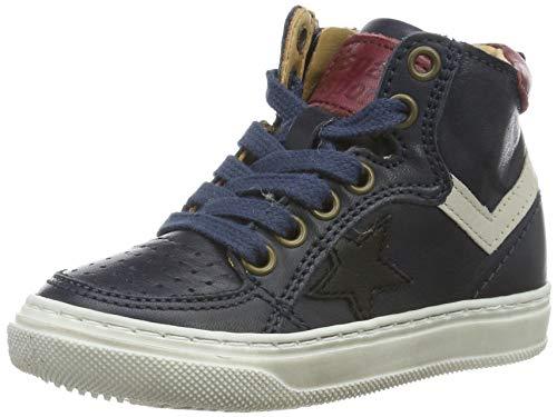Bisgaard Jungen Isak Hohe Sneaker, Blau (Navy 602), 26 EU
