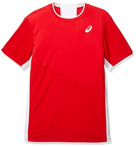 ASICS Herren Club M Ss Tee Unterhemd, Classic Red, S