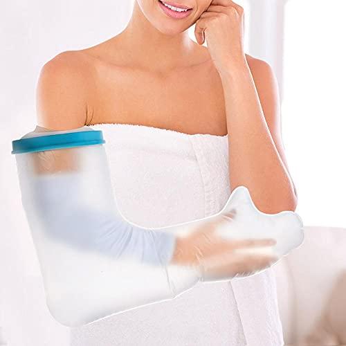 Protectores de fundición portátiles 60 cm Pierna adulta Cubierta de fundición impermeable Protector de vendaje a prueba de agua para el tobillo de la rodilla en bañarse 6.6 ( Color : Long arm 60cm )