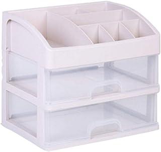 Xyanzi Organizador De Plástico, Gabinete De Oficina De Almacenamiento Caja De Muebles Aparador Armario Blanco Con Cajones ...