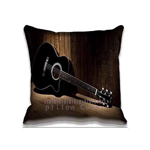 OUT OF STOCK Pillow Soft Modern Home Decor Acoustic Guitar Music