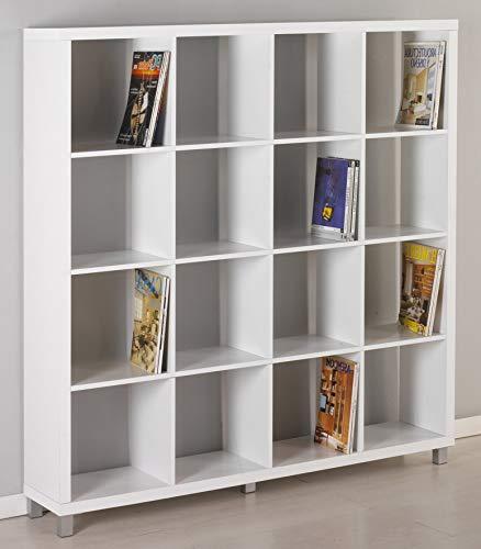 "Kit Closet Estantería ""Kubox"" 16 huecos blanco"