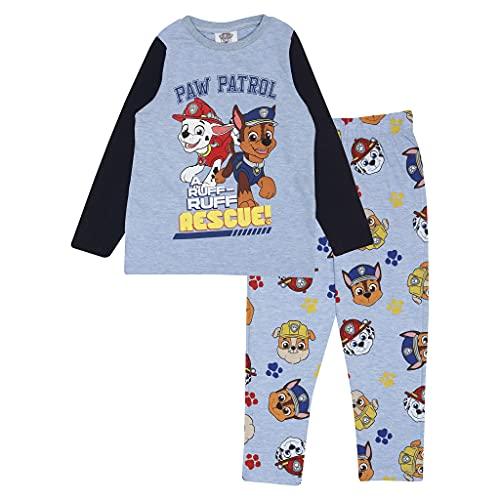 Paw Patrol Ruff Ruff Rescue Ragazzi Lungo Pajamas Set Azzurro 98   Ragazzi Paw Patrol Articoli da Regalo, Scuola Maschile Pigiama, i Vestiti dei Bambini, Compleanno dei Capretti Idea Regalo