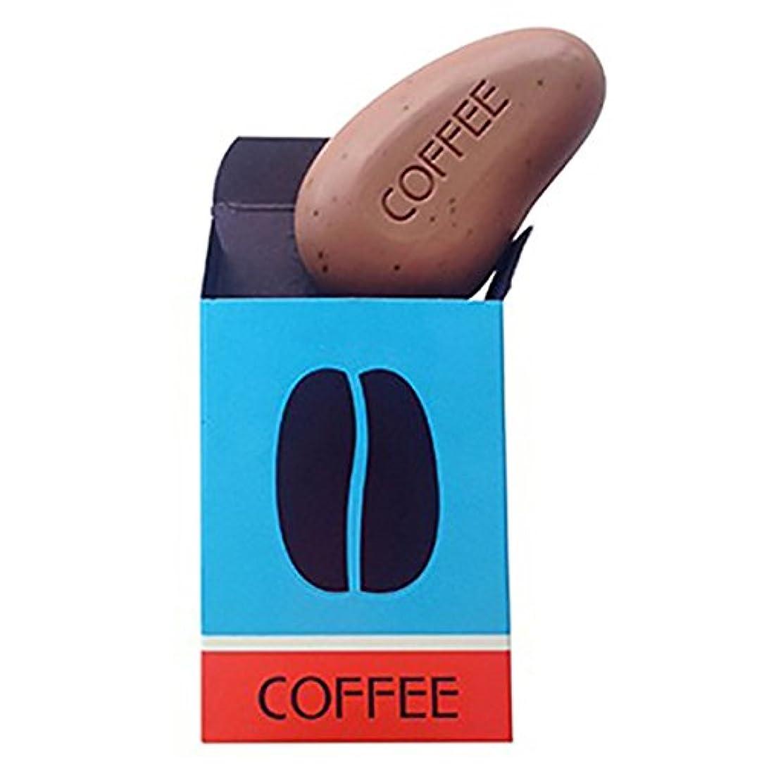 知覚できる乗ってに向けて出発カラスタイル 【モダンウォッシュ】 コーヒーソープ 99g
